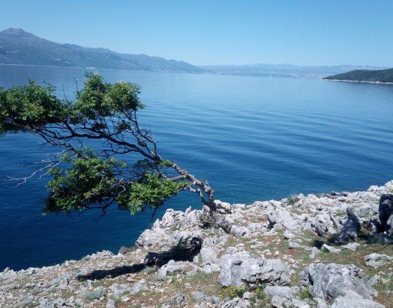 hiking on island Cres